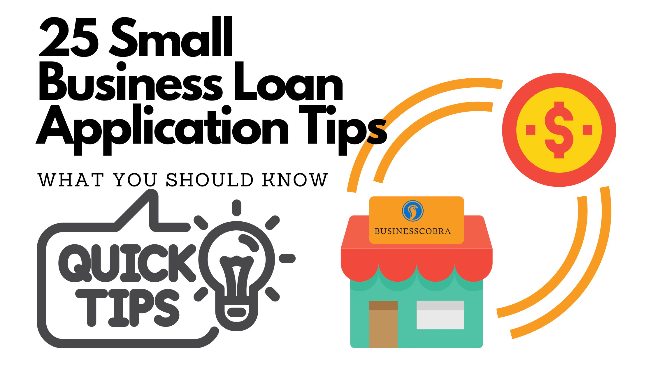 Small Business application Loan Tips