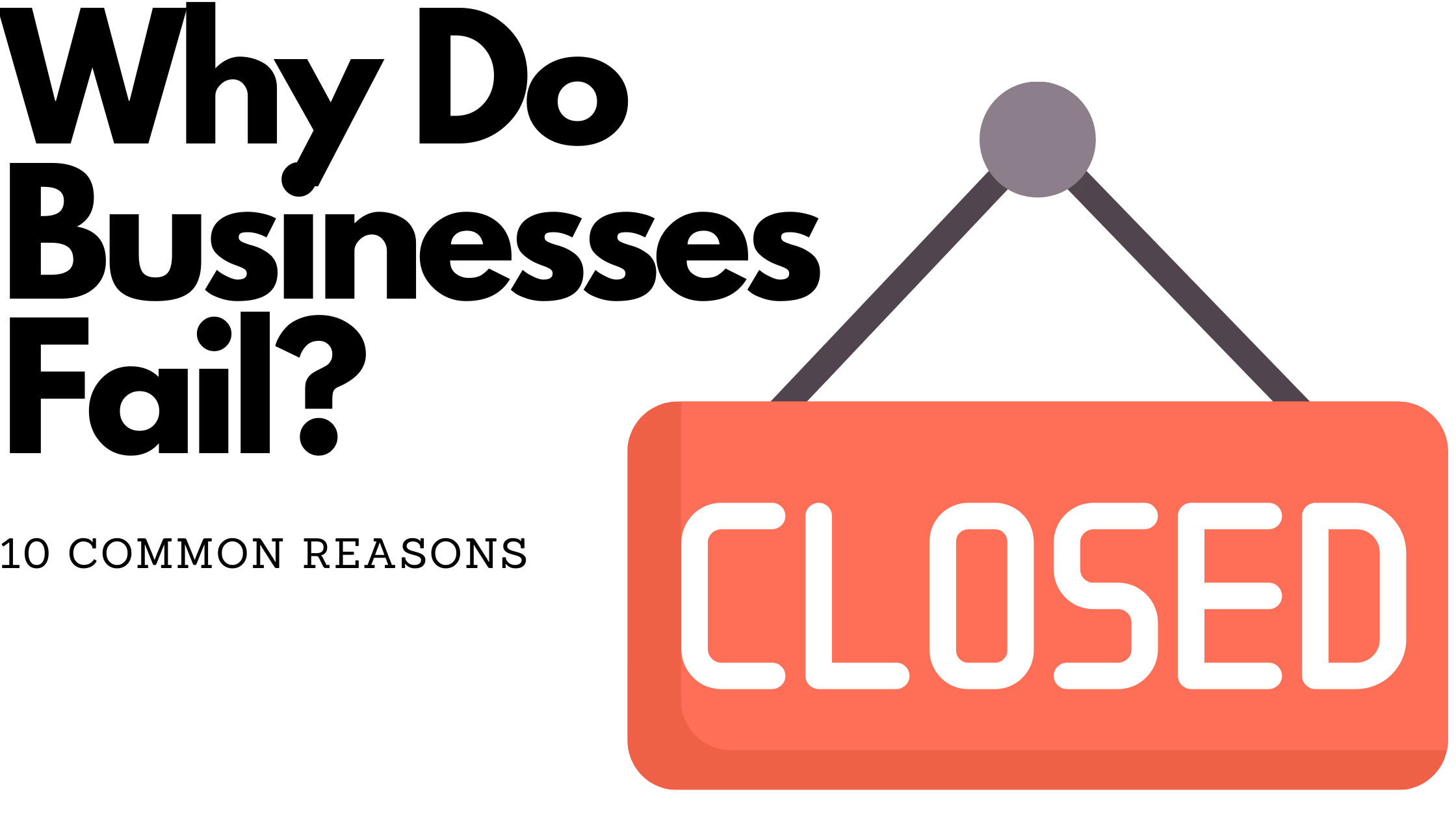 Why do businesses fail