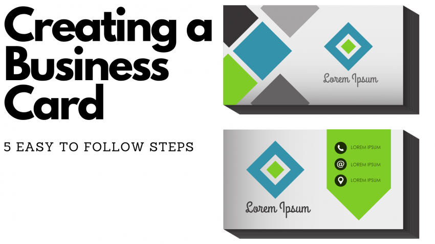 5 Easy Steps business card