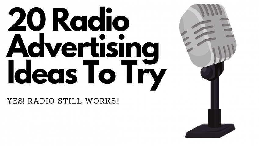 20 Radio Advertising Ideas To Try