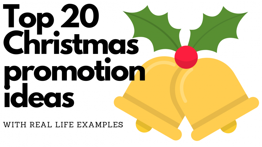 Top 20 Christmas promotion ideas