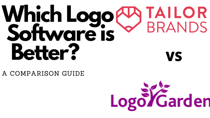 tailor brands VS logo garden