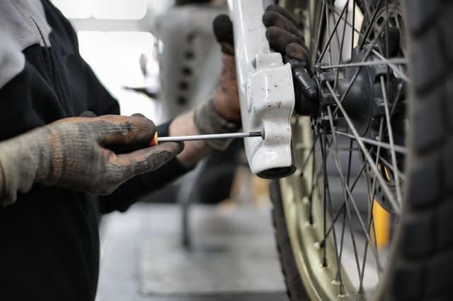fixing bikes