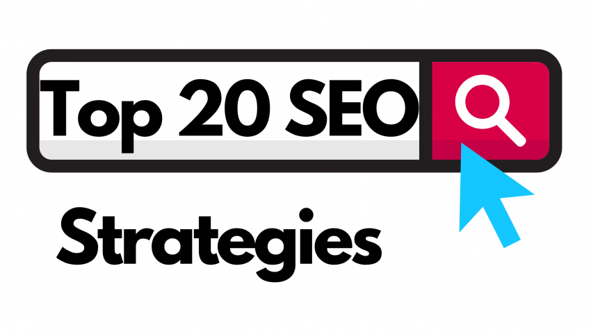 Top 20 SEO Strategies
